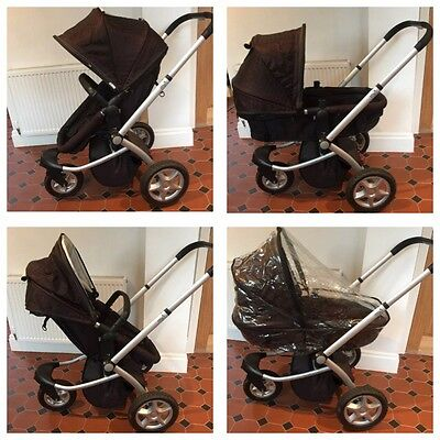 Mothercare My3 Chassis And My Choice Seat Unit Pram / Pushchair