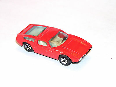 Vintage Yatming Maserati **RED LIGHT SPECIAL**
