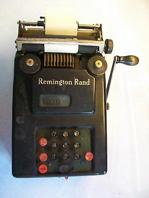Vintage Remington Rand calculator in good working condition