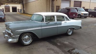 1956 Chevrolet Bel Air/150/210 chrome 1956 CHEVROLET BEL AIR
