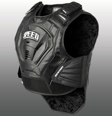 Speed Strength Lunatic Fringe Protective Motorcycle Vest - All Sizes 87-7067