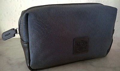 BRITISH AIRWAYS FIRST CLASS mens REFINERY Aromatherapy travel wash bag kit