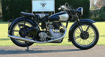 Royal Enfield WD/CO ex world war 2 bike with Swedisch papers