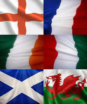 6 Nations Rugby Flags & Bunting Pack England Ireland Scotland Wales France Italy