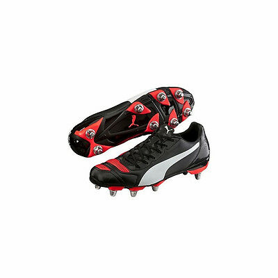 Mens Puma Evopower 4.2 Hd Rugby Boot In Sizes 7,8,9,10 And 11 Rrp 55.00