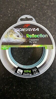 Scierra Reflection Tapered Fly Line..wf4 Floating..weight Forward Line