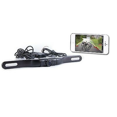 TDWIFIBC Top Dawg WiFi License Plate Backup Cam-iPhone/Android/Tablet