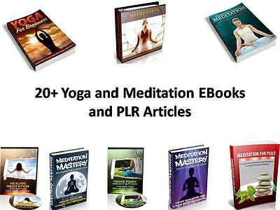 20+ Yoga and Meditation EBooks and PLR Articles