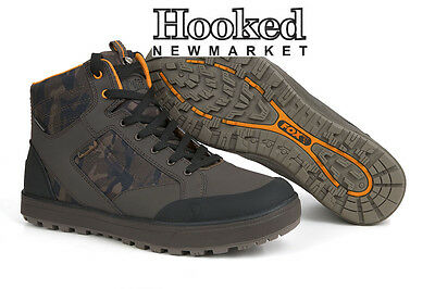 FOX Chunk Footwear Camo Mid Boots- Brand New For 2017  *Various Sizes*