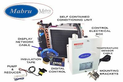MPS Marine Self Contained air conditioner 6000 BTU 115V 50/60 HZ kit