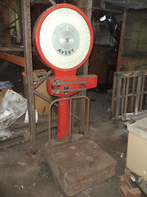 Antique Weighing Scales, Platform Scales, Avery Industrial Scales