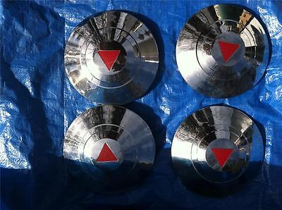 1948-1953 Hudson, Commodore, Hornet Hubcaps Wheel Covers Center Caps Vintage