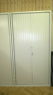 Triumph Tambour Storage Cupboard [Lockable] Height 1.98 metres 10 available