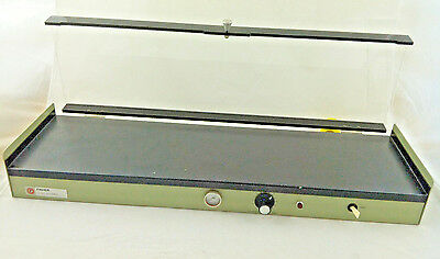 "Fisher Scientific Model 77 Slide Warmer Stainer 24"" x 7"" Surface, with Lid"