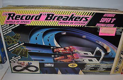 RECORD BREAKERS World of Speed Super 8 Speedway System 1990 Hasbro