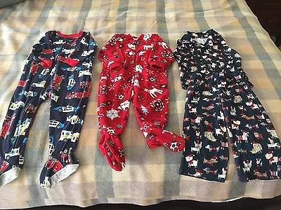 LOT Of Pajamas Size 18-24 Months