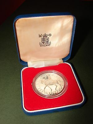 2 Stirling Silver Proof Coins British Commemorative Silver Jubilee/Queen Mother
