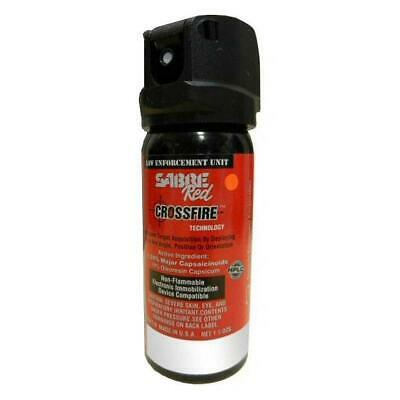 Sabre Red Pepper Spray - MK-3 Crossfire 1.5oz Stream OC Spray 52CFT10