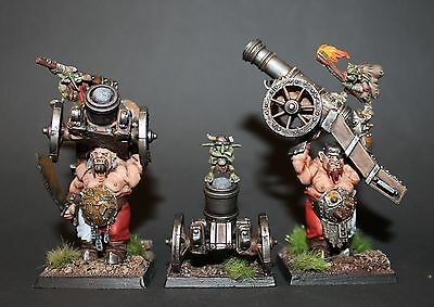 Warhammer Ogre Kingdoms Empire Ogres / Cannon Mortar - Painted