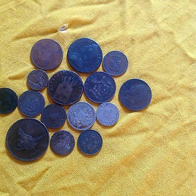 old world and british coins