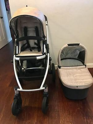 UPPAbaby VISTA Travel System- Lindsey Wheat- EXCELLENT CONDITION!!!!