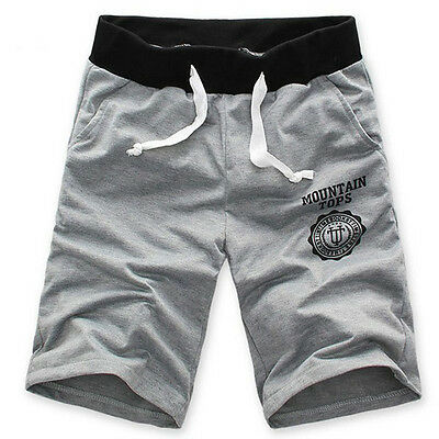 Fashion Men Cotton Shorts Boy Pants Gym Sport Jogging Trousers Casual Hot Pants