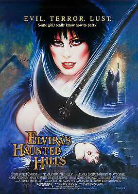 Elvira's Haunted Hills (2001) - A1/A2 POSTER **BUY ANY 2 AND GET 1 FREE OFFER**