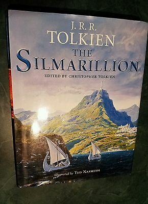 The Silmarillion by J.R.R. Tolkien Hardcover Book with Map of Beleriand