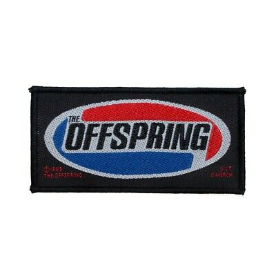 """""""The Offspring"""" Band Logo Punk Rock Music Fan Merchandise Sew On Applique Patch"""