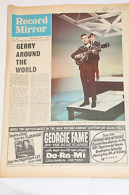 Record Mirror May 2 1964 - Gerry (of the Pacemakers)