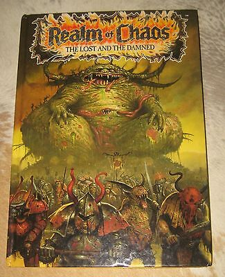 WARHAMMER REALM OF CHAOS - THE LAST AND THE DAMNED  ANNUAL BOOK c1990
