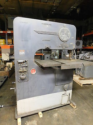 DoALL 1.0 HP Vertical Band Saw  V-36 with Power Feed and Accessories