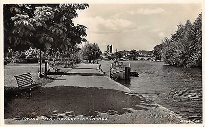 POSTCARD  OXFORDSHIRE   HENLEY ON  THAMES   Towing  Path     RP
