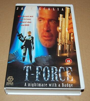 T-Force ~ T Force (Vhs, 1998) Bigbox Ex-Rental