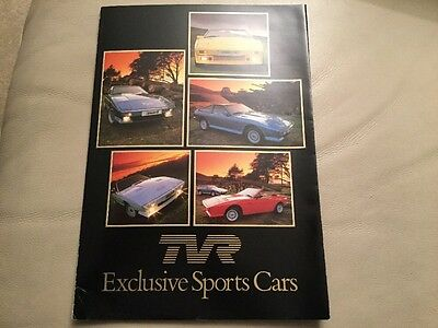 TVR Brochure From The 1970s