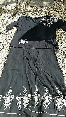 Matching skirt and top set both size 26