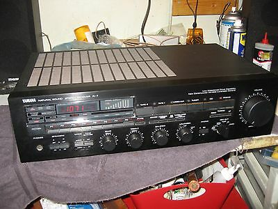 Vintage Yamaha Natural Sound R-7 Receiver with Remote