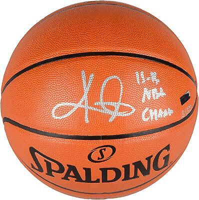 Autographed Kyrie Irving Cavaliers Basketball Item#6437033