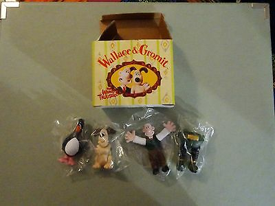 Wallace and Gromit mini figures