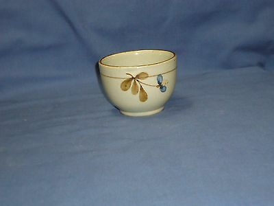 highland stoneware Scotland sugar bowl small dish planter plant pot 9.5 cm dia
