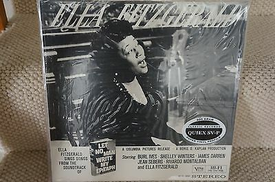 Ella Fitzgerald, Let No Man Write My Epitaph, Classic Records. 200gm Sealed