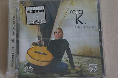Sara K. Made in The Shade, Multichannel hybrid SACD, sealed