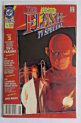 The Flash 1 - All-New TV Special - DC Comics Newsstand Edition 1st Print 1991 NM