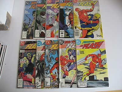 The New Flash 1987 #1-39 complete Fine to NM condition