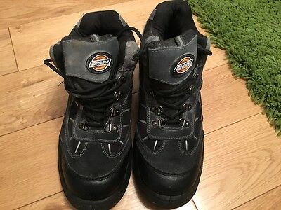 Mens Dickies Storm Hiker Steel Toe Cap Safety Boots Size 8