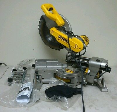 DEWALT 15 Amp 12 in. Dual Bevel Sliding Compound Miter Saw DMS246