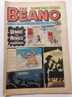 DC Thompson THE BEANO Comic. Issue 1697. January 25th 1975 **FREE UK POSTAGE**