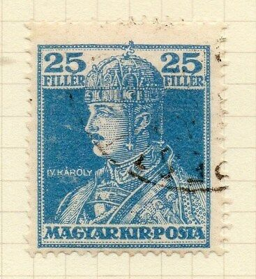 Hungary 1918 Early Issue Fine Used 25f. 122342