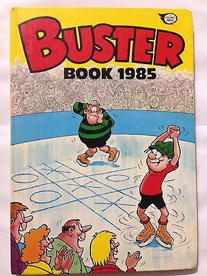 The BUSTER BOOK 1985 Annual. Good Condition For Age **Free UK Postage**