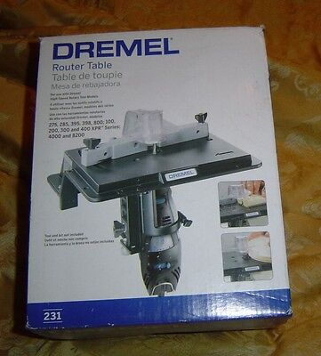 Dremel  231 Shaper Router Table.  New In Box
